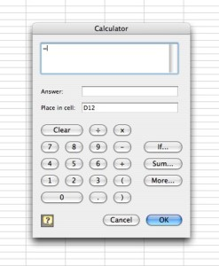 Are numbers not your strong suit? Let Excel do your calculations for you.
