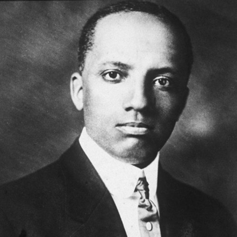 historian Dr. Carter G. Woodson