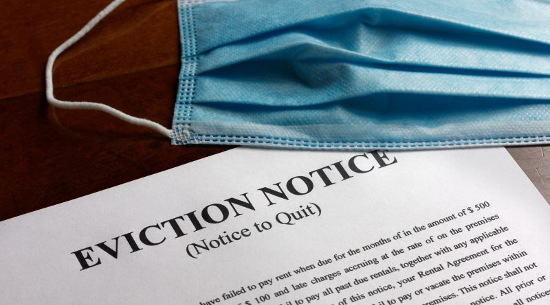 Covid-19-related eviction notice