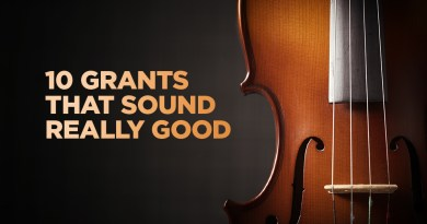 Ten Music Grants That Are Pitch Perfect