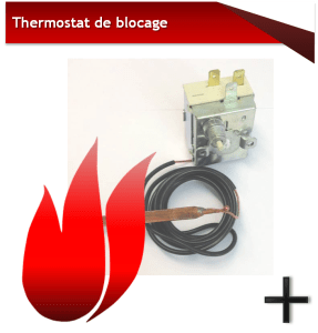 KALOR THERMOSTAT DE BLOCAGE