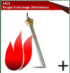 PIÈCES ARCE BOUGIE D'ALLUMAGE