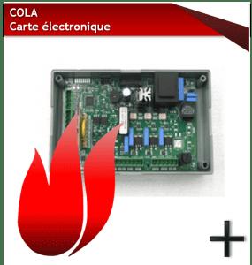 PIÈCES COLA CARTE ELECTRONIQUE
