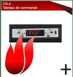 PIÈCES COLA PANNEAU DE COMMANDE