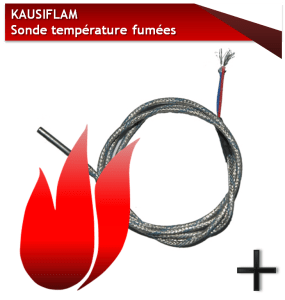PIECES KAUSIFLAM-SONDE-TEMPERATURE-FUMEES