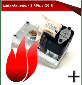 Motoréducteur 3RPM 9.5