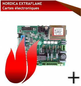 pieces nordica extraflame cartes electroniques