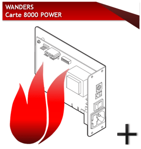 WANDERS carte 8000 power