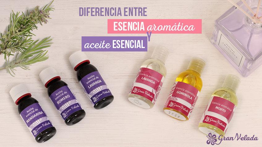 Diferencias entre aceite esencial y esencia aromática
