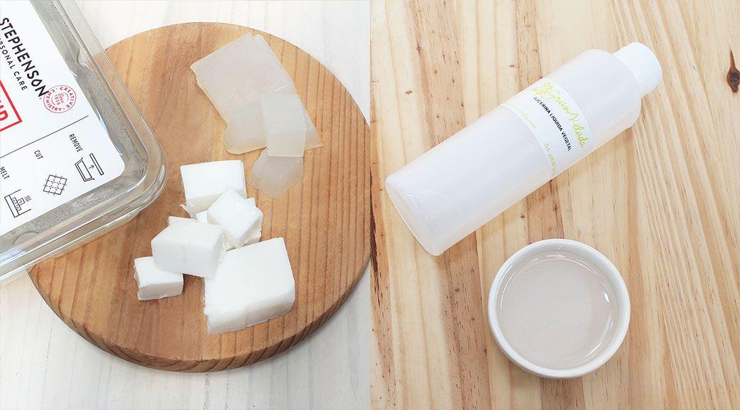 Se puede hacer jabon con glicerina liquida pura