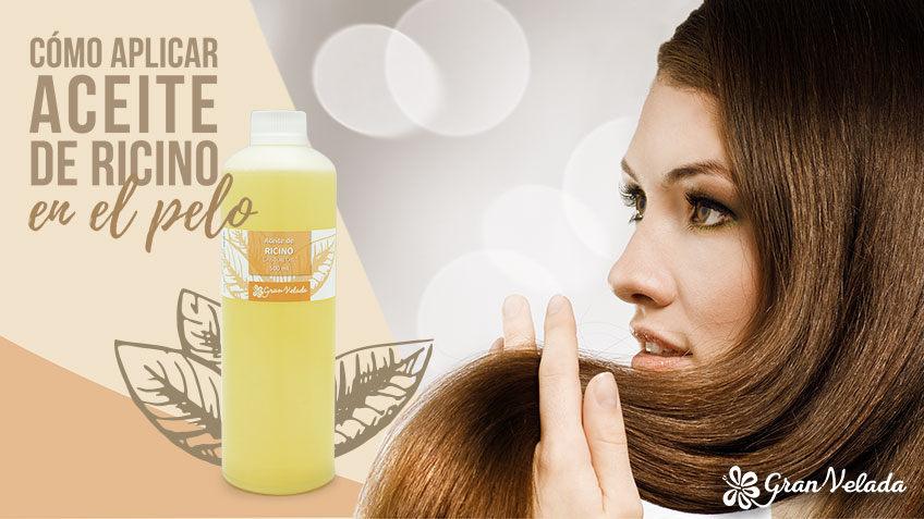 Beneficios del aceite de ricino para el pelo