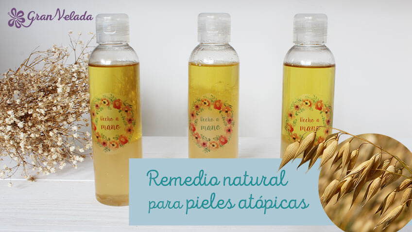 Remedio natural para pieles atopicas