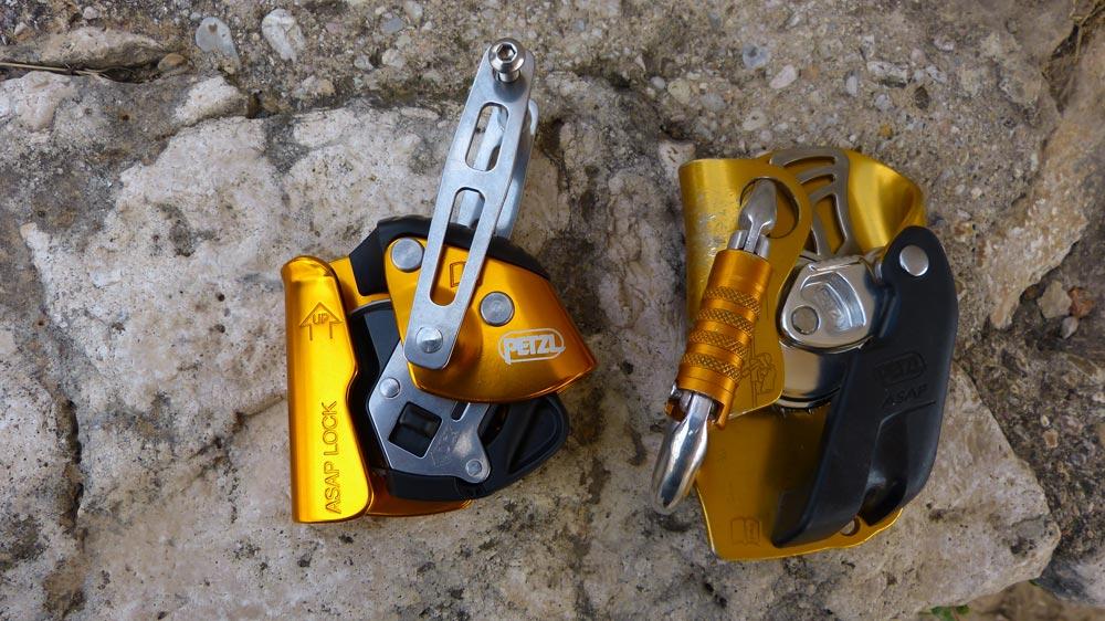 Anticaídas Asap Lock y Asap normal