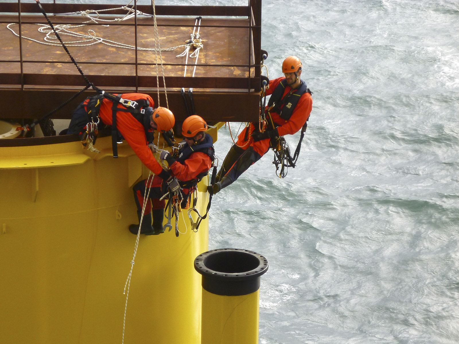 Rigging, offshore