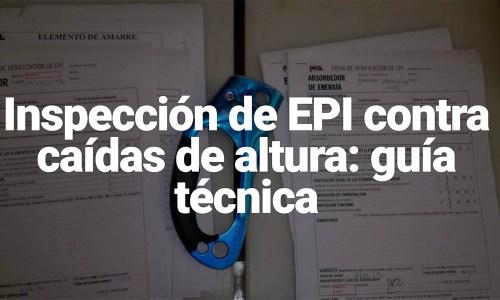 Inspoeccion EPI