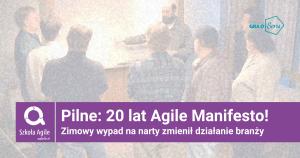 Blog - 20 lat agile