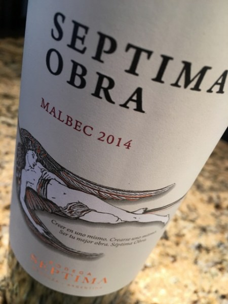 pizza night - Septima Obra Malbec
