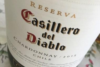 Casillero del Diablo Chardonnay - sip, write, repeat