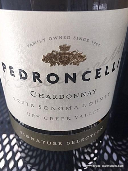 Pedroncelli Chardonnay - www.grape-experiences.com