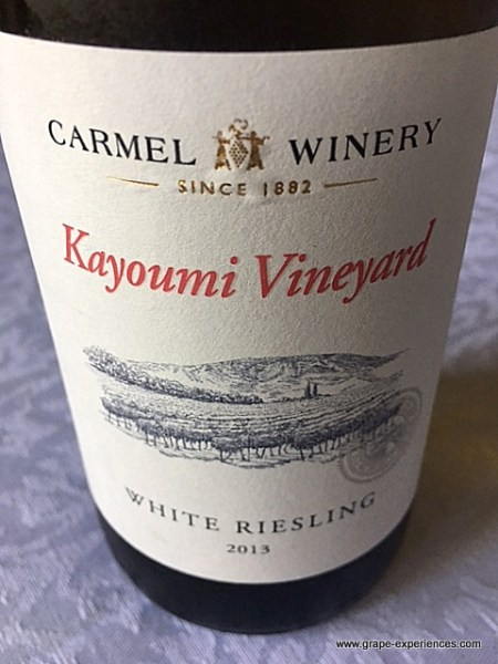 Carmel Winery Riesling