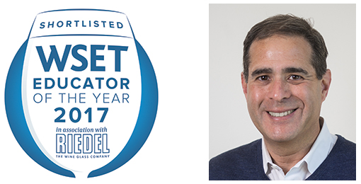 Innovation & Shortlist for WSET 2017 Educator of the Year