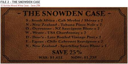 Wine Shop Asia Hong Kong Snowden Files 2