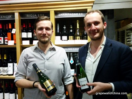 Charles and Edouard pf growers Champagne importer Seina.jpg