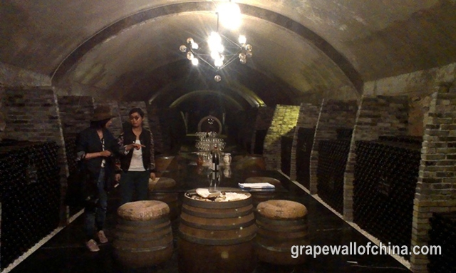 ningxia winery tour may 2018 chateau aromes 2