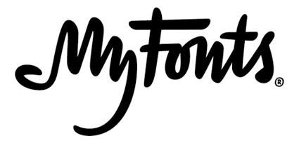 Le nouveau logo Myfonts