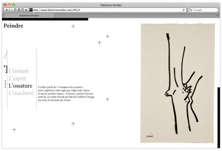Site web Art Contemporain