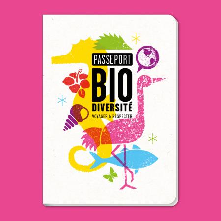 Design graphique Passeport Biodiversité outre-mer