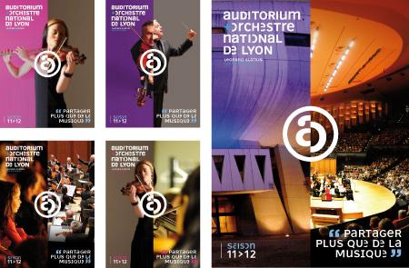 Affiche identité visuelle Orchestre National Musique Classique