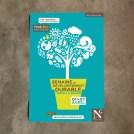 Affiche écologie arbre en pictogrammes