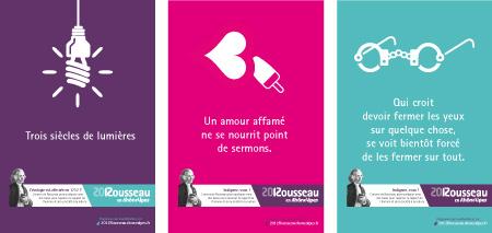 Campagne de publicité pour événement culturel et littéraire