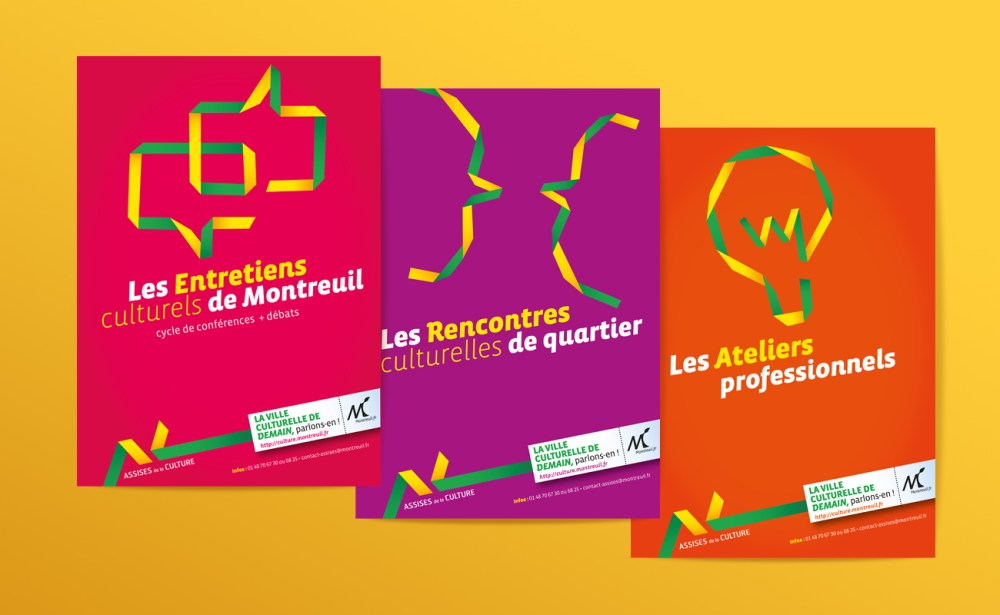Déclinaisons de la brochure des assises de la culture