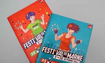 Version jeune public de la brochure du festival de marne