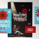 Documents de communication d'un festival à Lyon