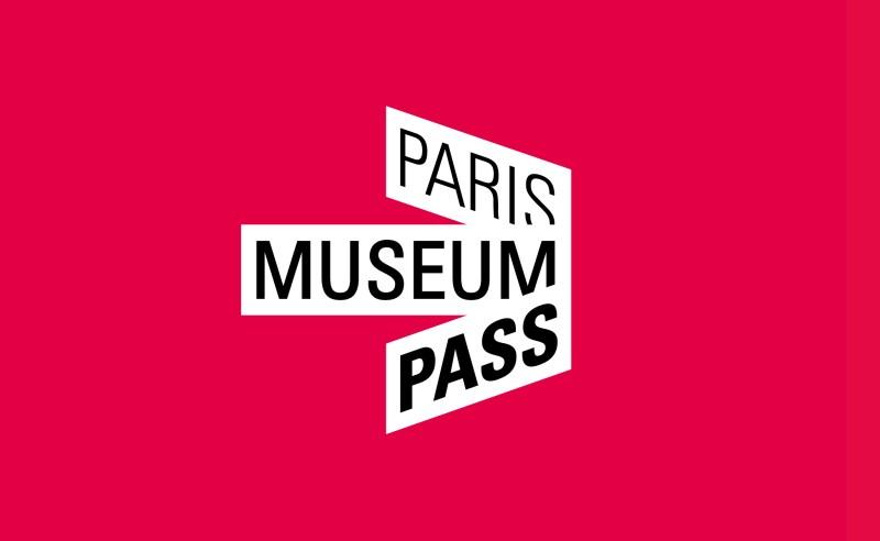 Création de l'identité visuelle design du logo du Paris Museum Pass