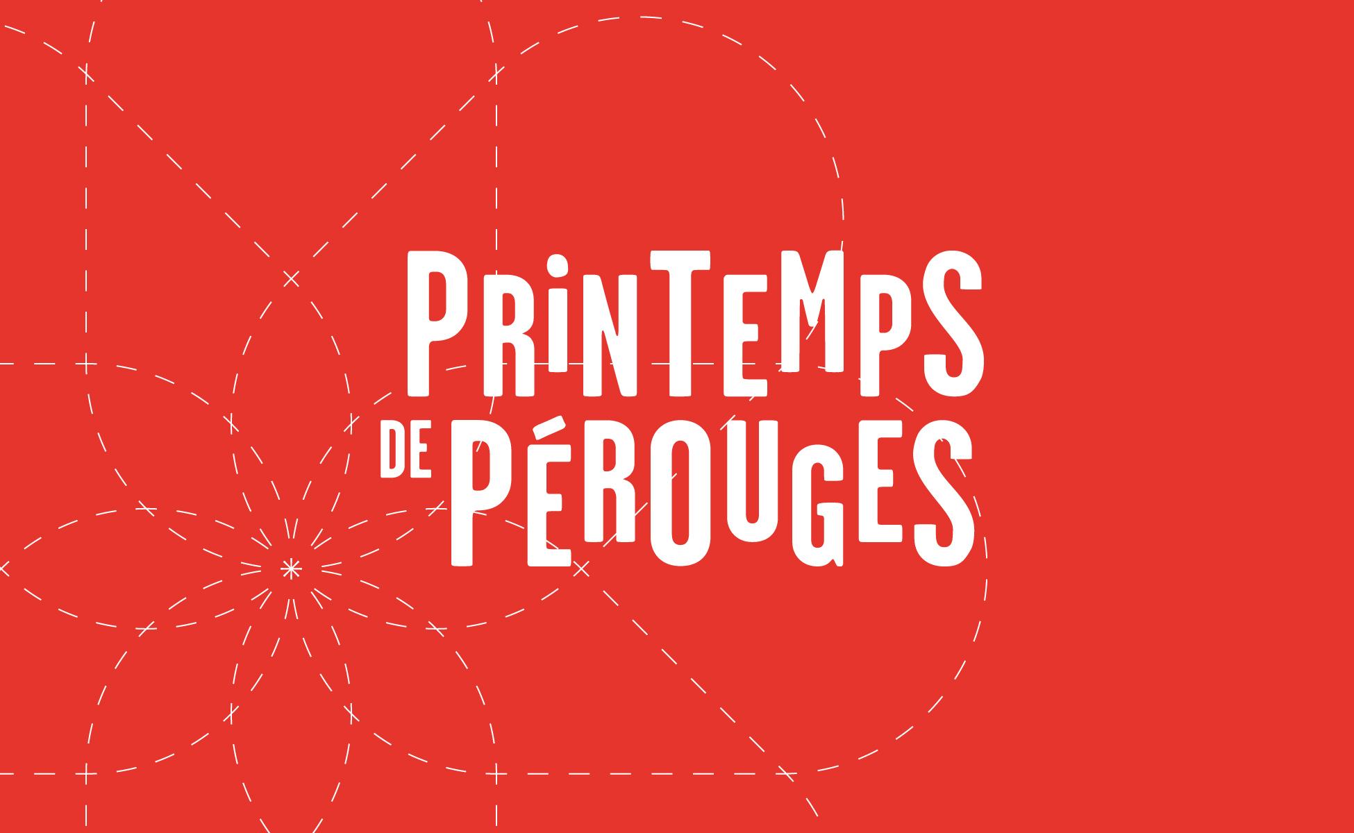 Création de l'identité du Festival du Printemps de Pérouges