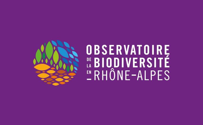 Logo observatoire de la biodiversité en Rhône-Alpes