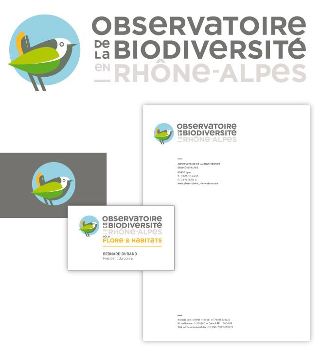 recherche logo observatoire biodiversité oiseau