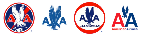 Évolution du logo depuis 1930