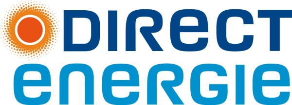L'ancien logo de Direct Energie