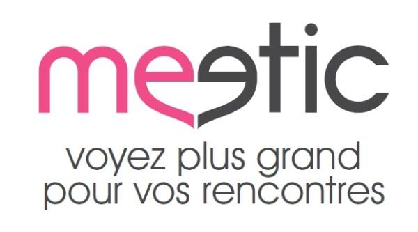 Le nouveau logo de Meetic
