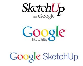 Évolution des logos de Sketchup