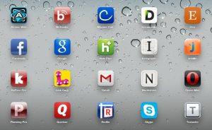 les logos de marques deviennent des icônes applications