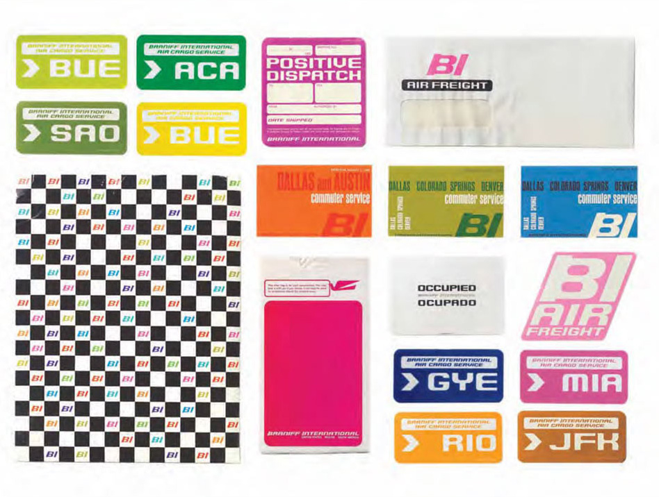 Alexander Girard Braniff Global Brand design