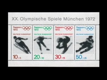munich-olympics-stamps