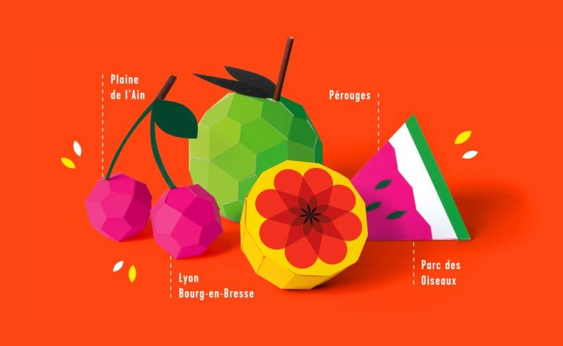 paper-art-fruits-papier-colorfull-poster