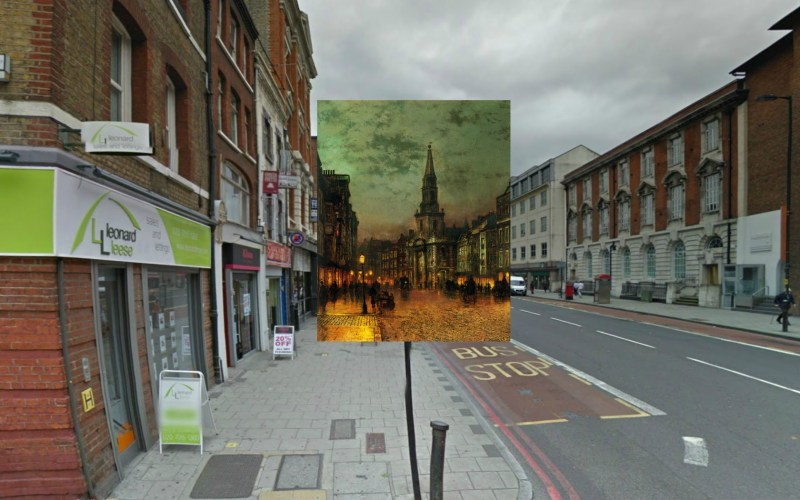 Blackman Street London (1885) John Atkinson Grimshaw - Imgur